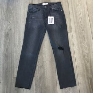 Pistola NWT black distressed jeans